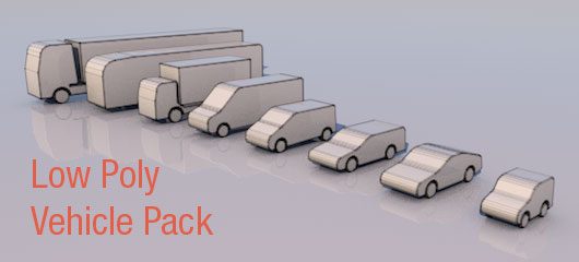 Lowpoly Vehicle Pack